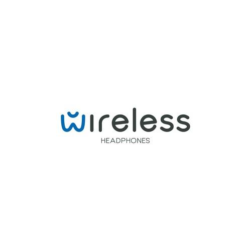 Wireless logo concept