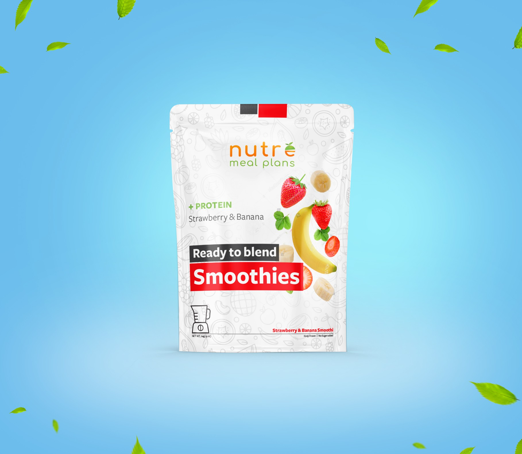 Nutre Ready Made Smoothies Packaging