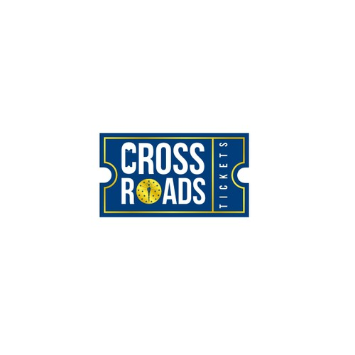 Logo concept for cross roads tickets