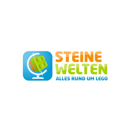 Logo for a Lego-Website