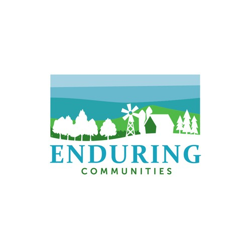 Logo for consulting community and podcast supporting small towns and rural communities