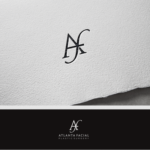 A simple and luxurious logo for a cosmetic practice.