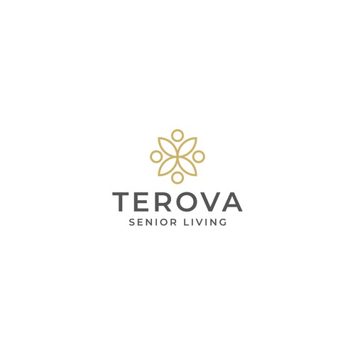 Simple logo for senior Living community