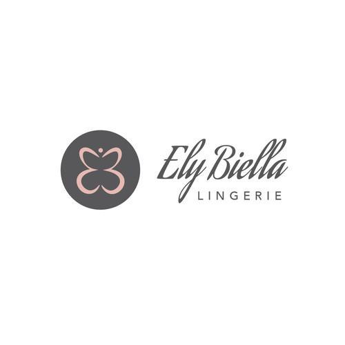 EB monogram logofot lingerie