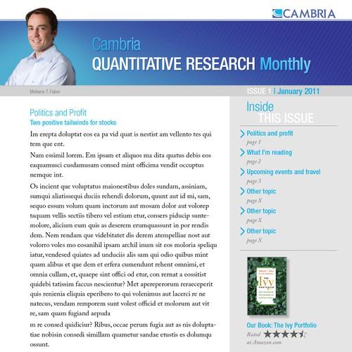 Investment Newsletter