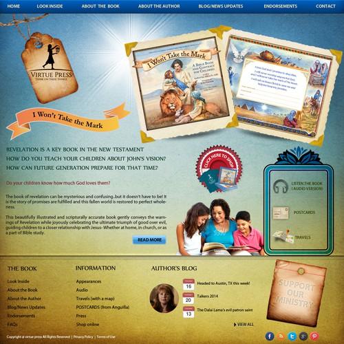 Website for Christian Children's Book