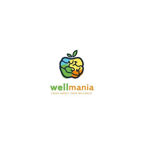 Logo concept for WELLmania.