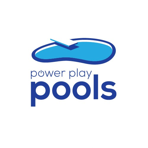 Brand identity for a pool company.