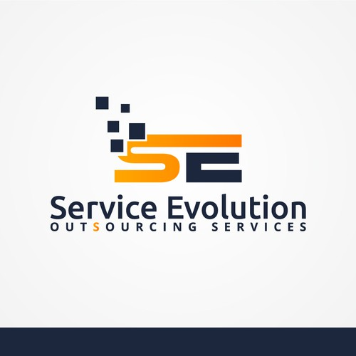 Logo design for service company