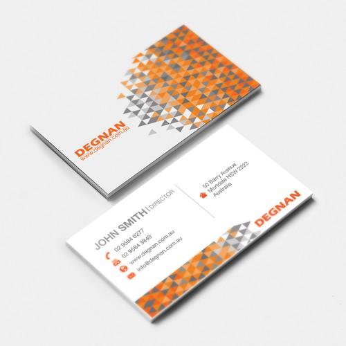 Degnan Business Card Proposal
