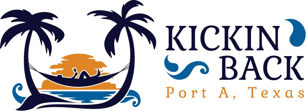 Design a unique, attractive, and memorable logo for the Kickin Back beach house in Port Aransas, Tex