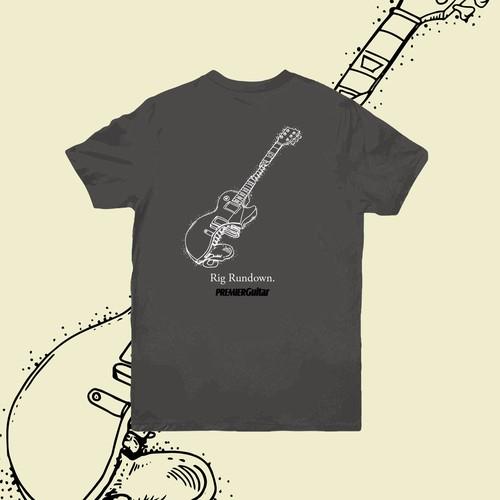 Guitar anatomy T-Shirt