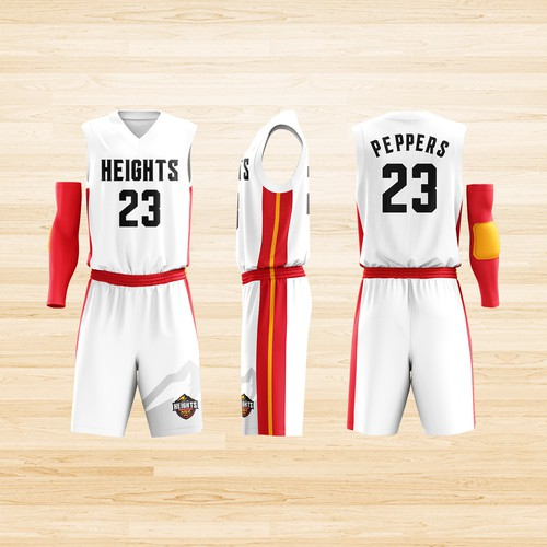 Carolina Heights uniforms