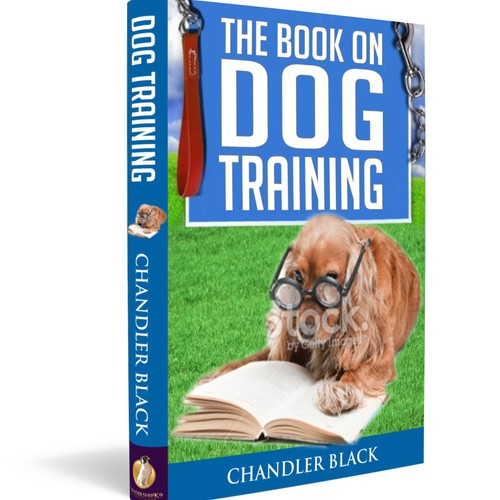 """Create a playful and clean cover for """"The Book on Dog Training"""""""