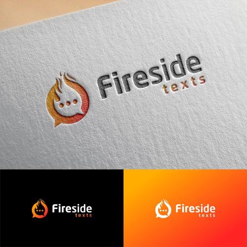 Fireside texts logo
