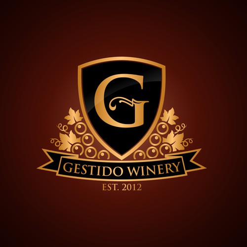 Create the next logo for Gestido Winery