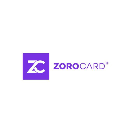 Logo Design for a new banking startup ZOROCARD
