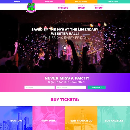 Colourful Web Design