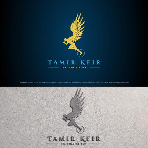 bold logo concept for tamir kfir.