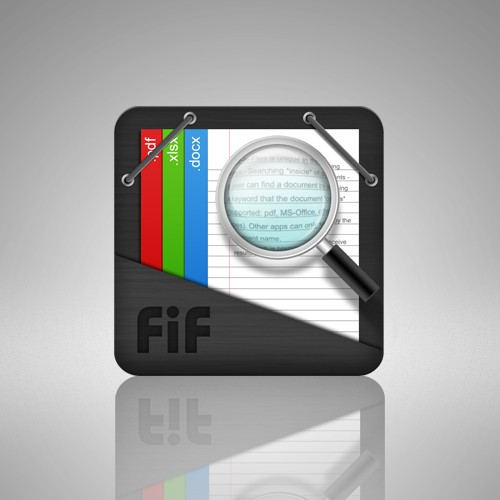 """Icon design for """"Search In Android"""" app"""