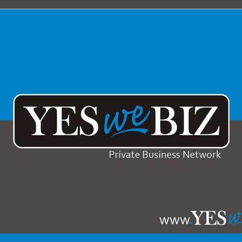 business logo design for Yes we Biz