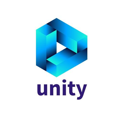 Unity logo concept