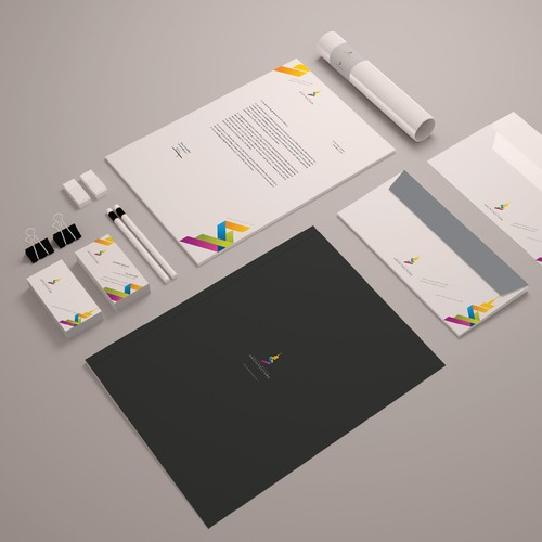 Stationery Design for architectural consultant