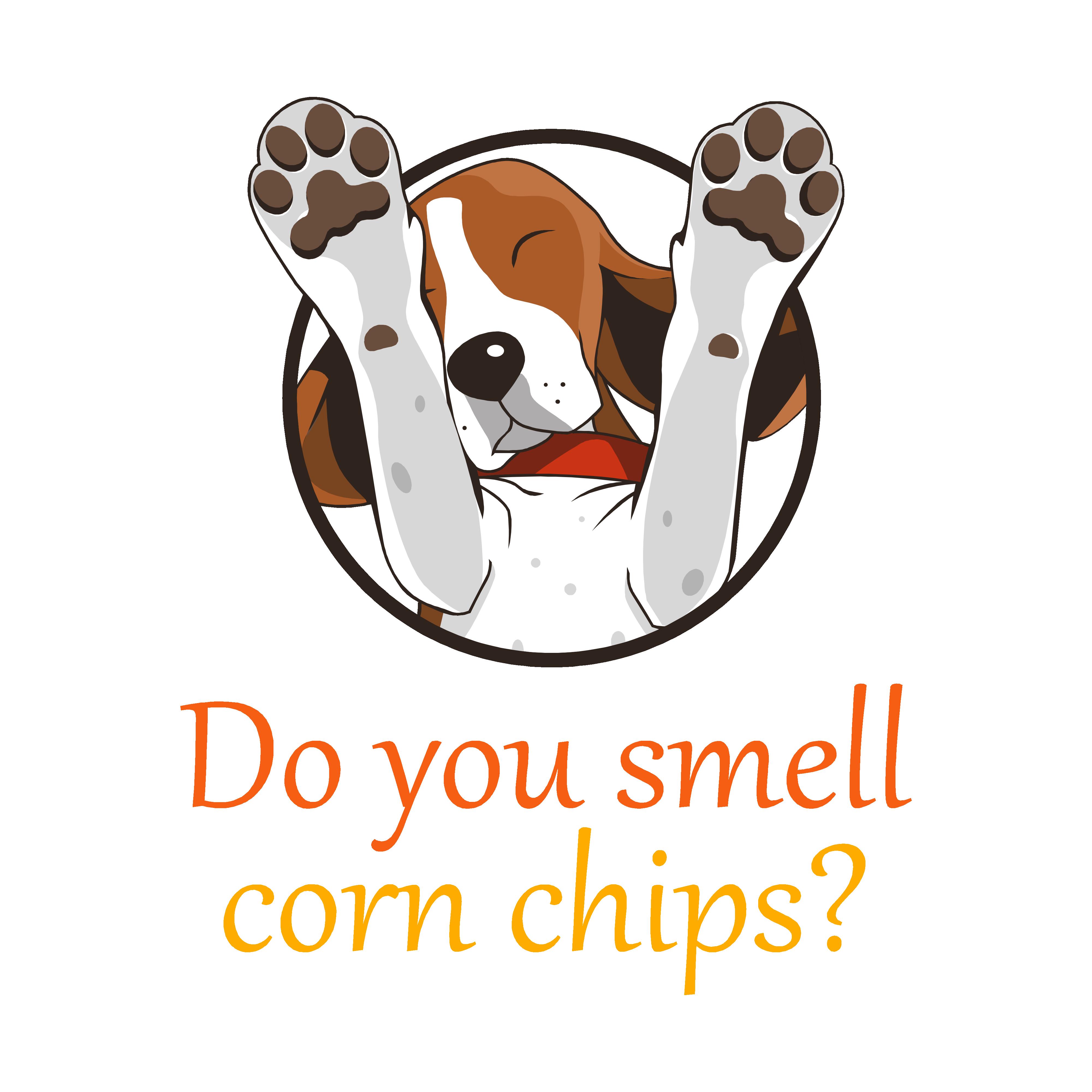 Corn Chip Dog Feet