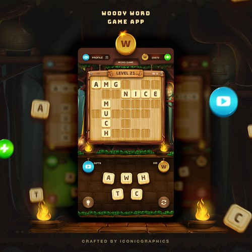 Word Game App Design