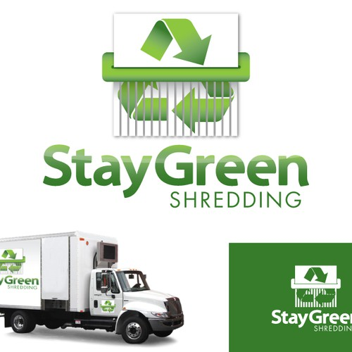 Help Stay Green Shredding with a new logo
