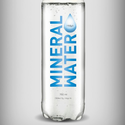 Mineral Water label
