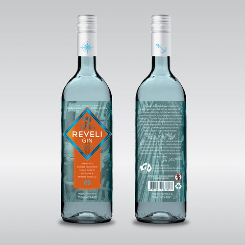 Reveli Gin Label