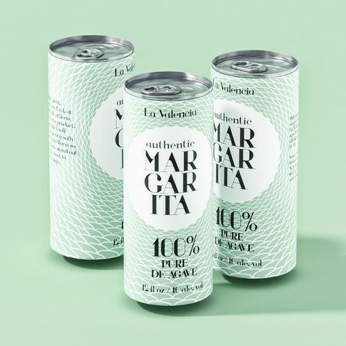 drink margarita label