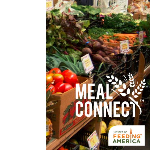 logo for meal connect group of feeding america