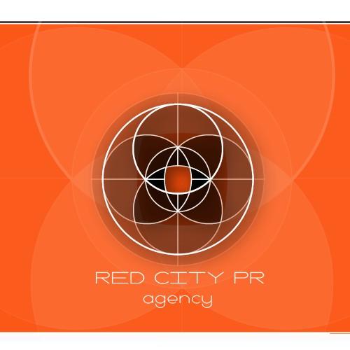 Geometrical Logo for PR Company Morocco