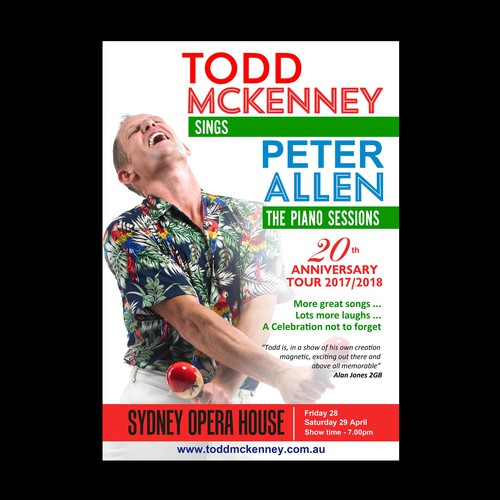 Poster for Todd McKenney