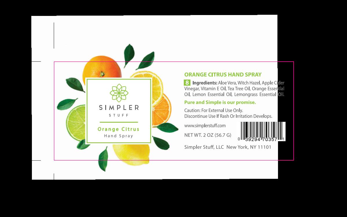 Simpler Stuff (8 oz soap + 2 oz hand spray)