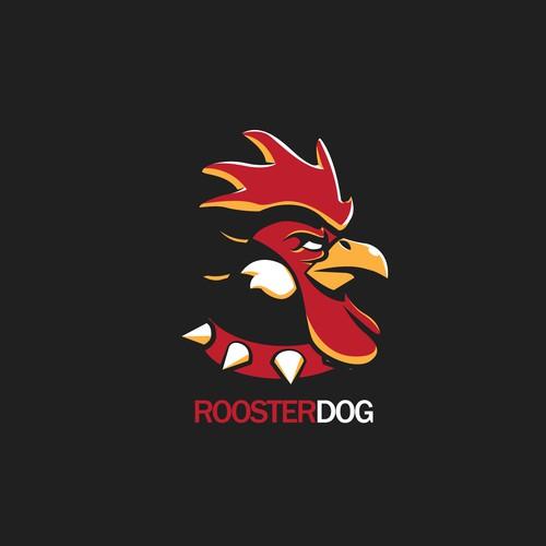 logo concept for roosterdog