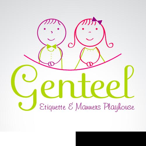 logo for genteel
