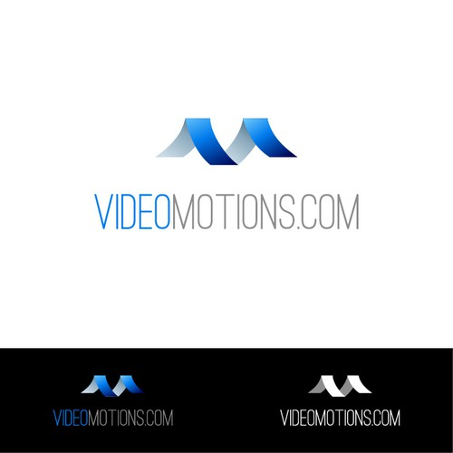 Videomotions.com - Logo design for tube/multimedia streaming site/blog. with a new logo