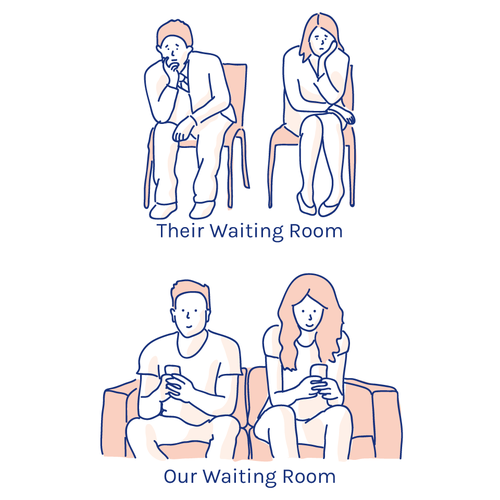 Counseling app illustration