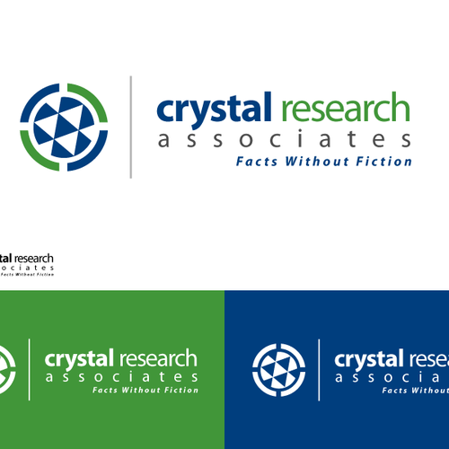 Create the next logo for Crystal Research Associates