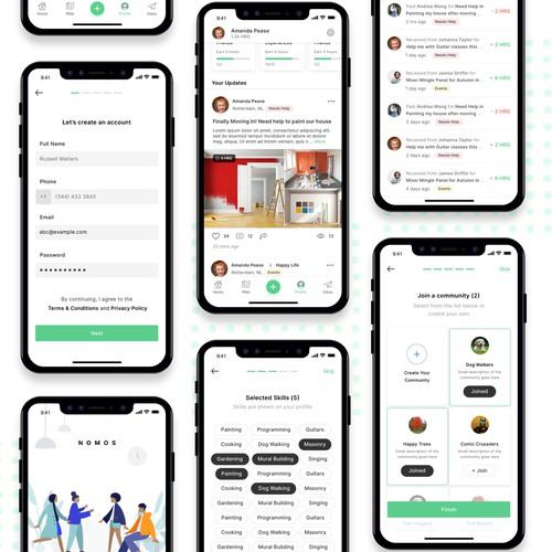 Community App design