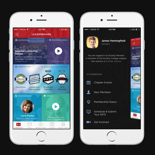 Design Modern and Engaging Multi-Platform Apps for College Students