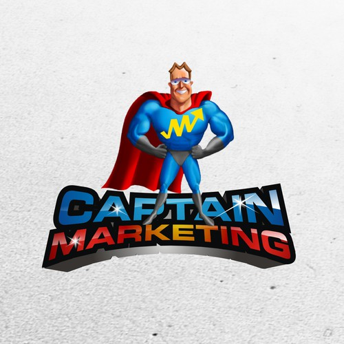 Create A Winning Design for Captain Marketing's Logo