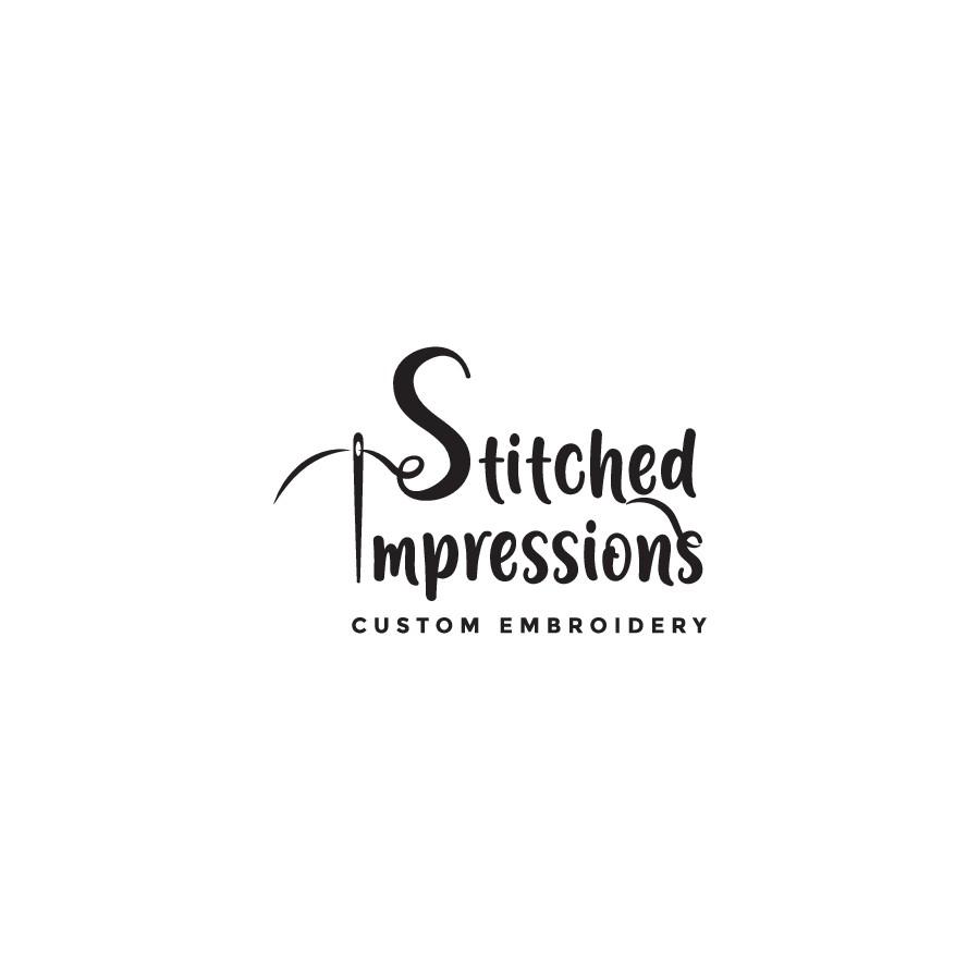 Logo design for a small embroidery company