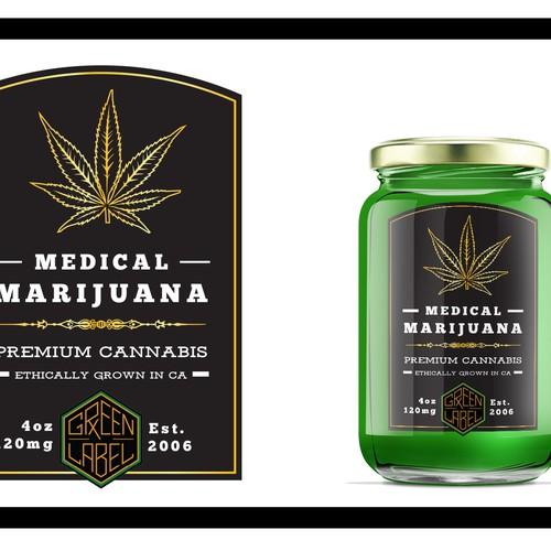 Medical Marijuana Label