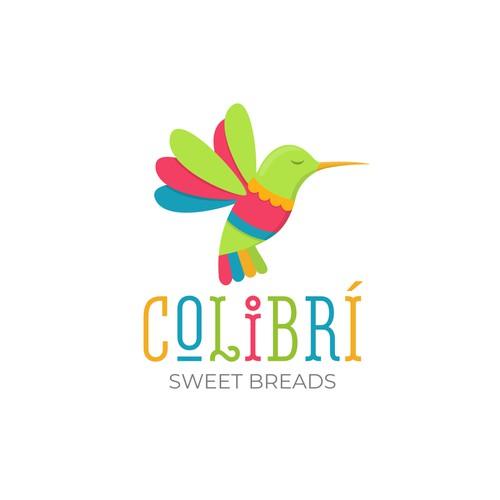 Colibrí logo design
