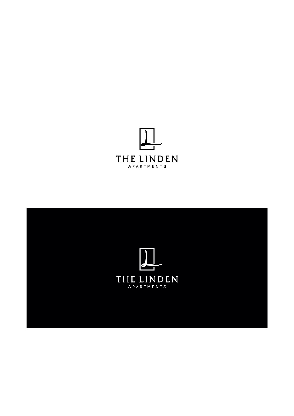 The Linden Apartments Logo Design Contest