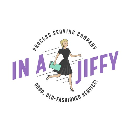 Logo for process serving company